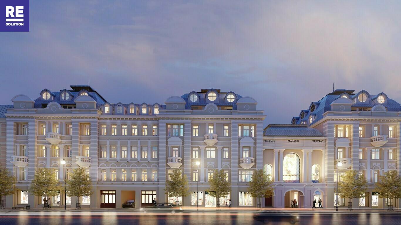 Parduodamas butas Gedimino pr., Senamiestyje, Vilniuje, 115.2 kv.m ploto, 3 kambariai nuotrauka nr. 4