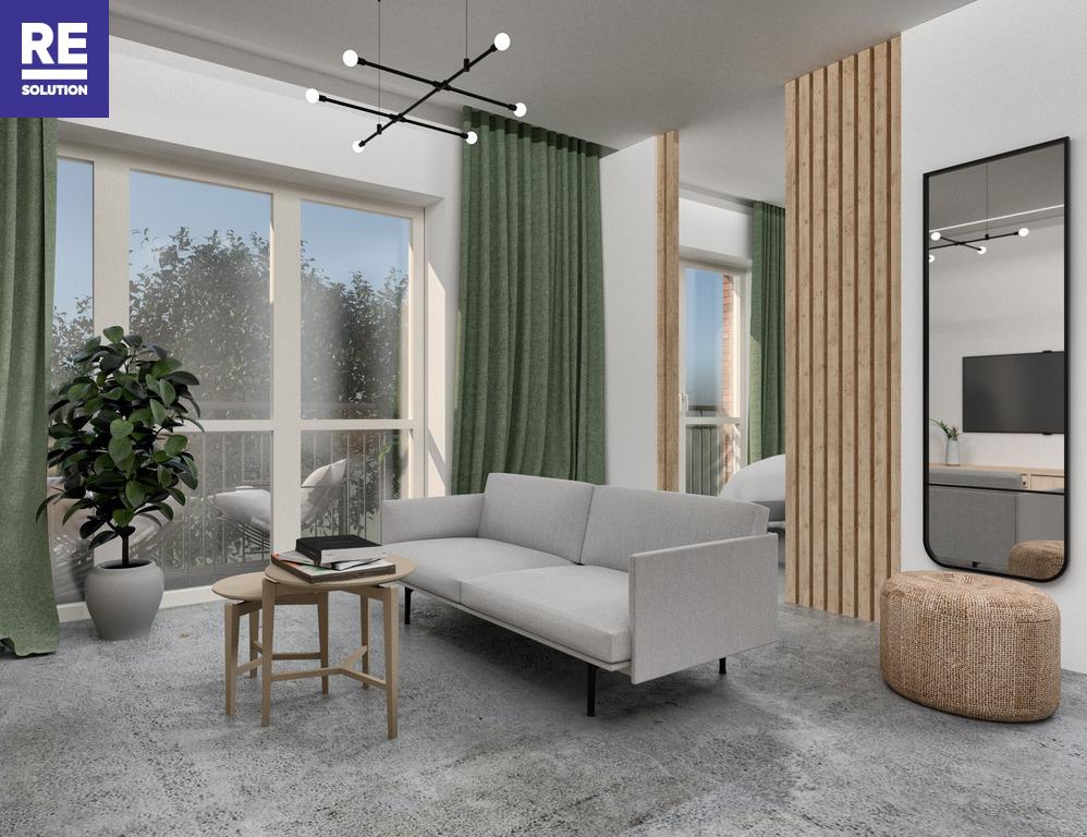 Parduodamas butas Olandų g., Užupis, Vilniaus m., Vilniaus m. sav., 35.2 m2 ploto, 2 kambariai