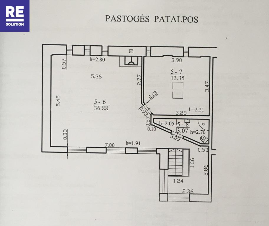 Parduodamas 4 kambarių butas tribučiame name Šeimyniškių g. nuotrauka nr. 20