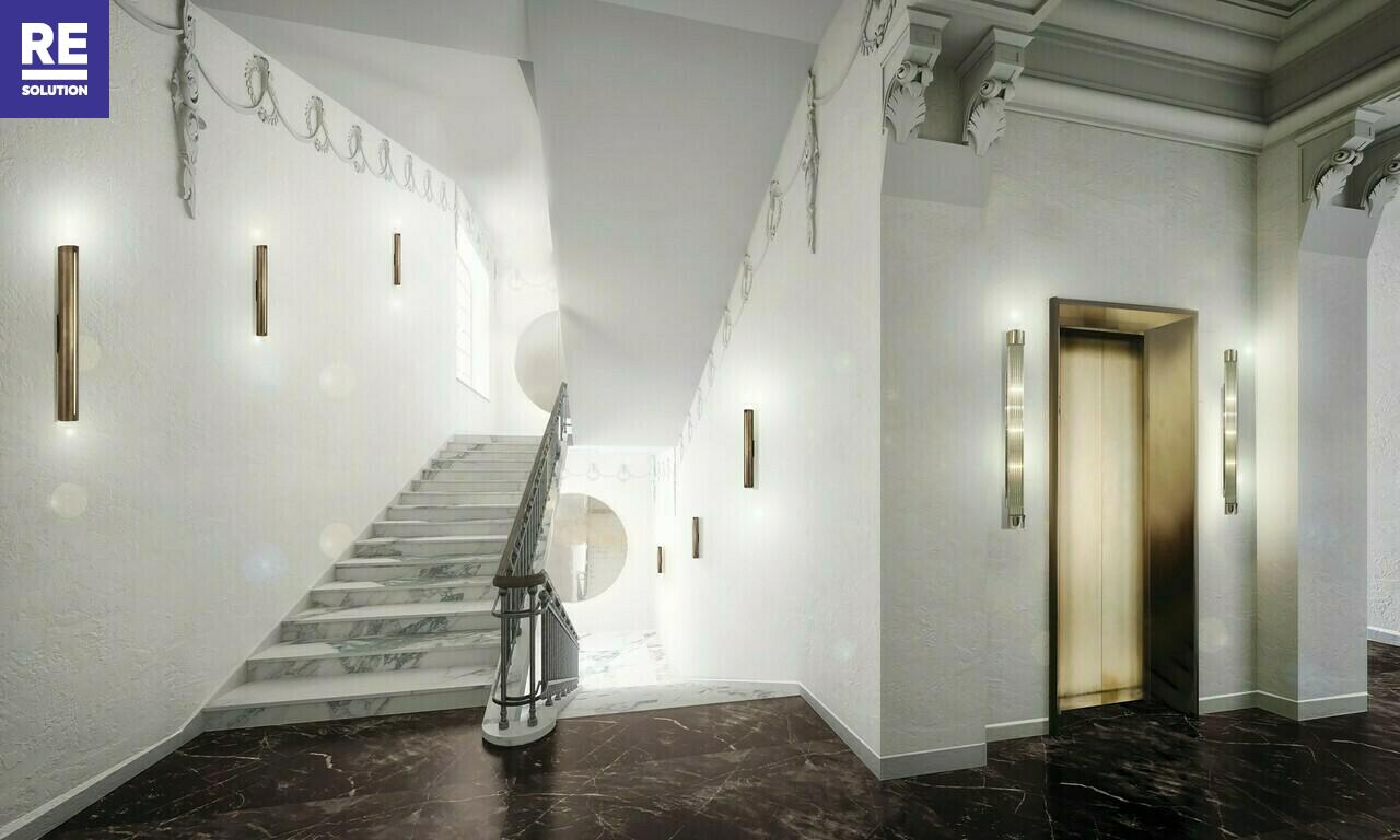 Parduodamas butas Gedimino pr., Senamiestyje, Vilniuje, 115.2 kv.m ploto, 3 kambariai nuotrauka nr. 3