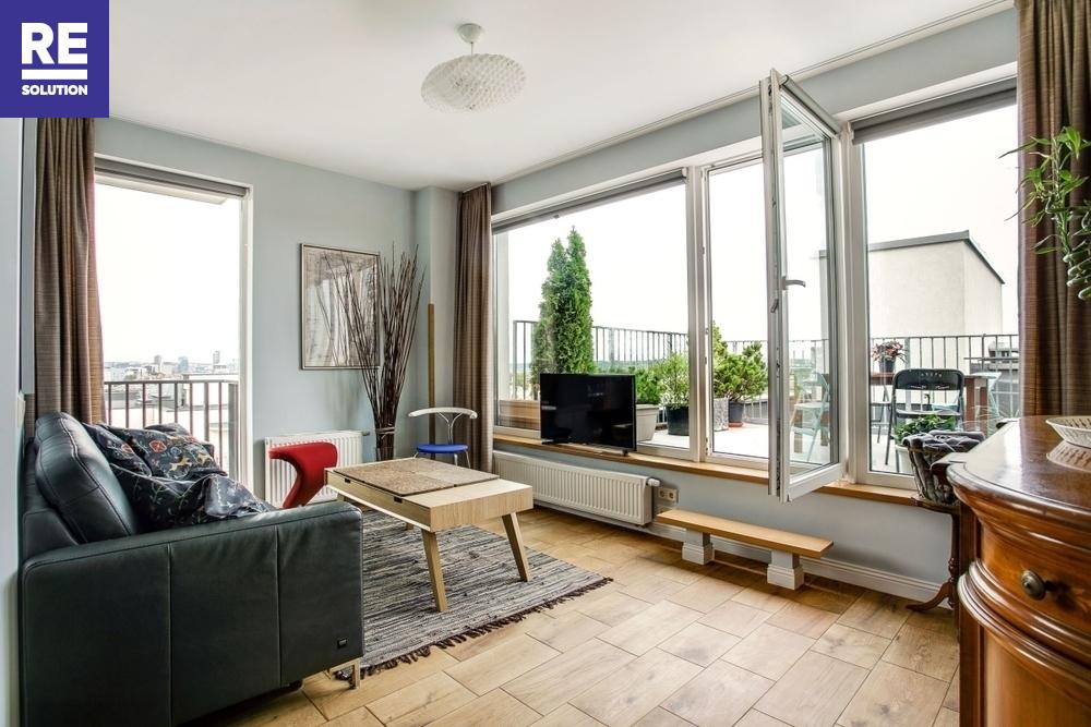 Nuomuojamas butas Mindaugo g., Senamiestis, Vilniaus m., Vilniaus m. sav., 65 m2 ploto, 2 kambariai nuotrauka nr. 2