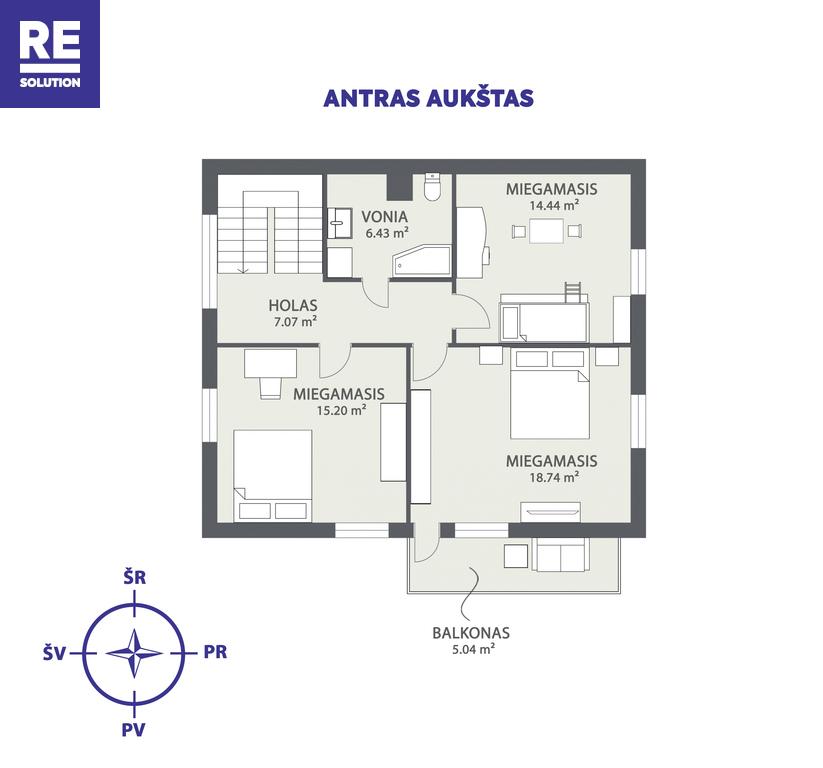 Parduodamas namas Varniškių k., 224 m² ploto, 2 aukštai nuotrauka nr. 22