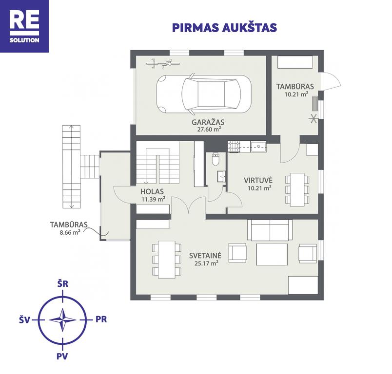 Parduodamas namas Varniškių k., 224 m² ploto, 2 aukštai nuotrauka nr. 21