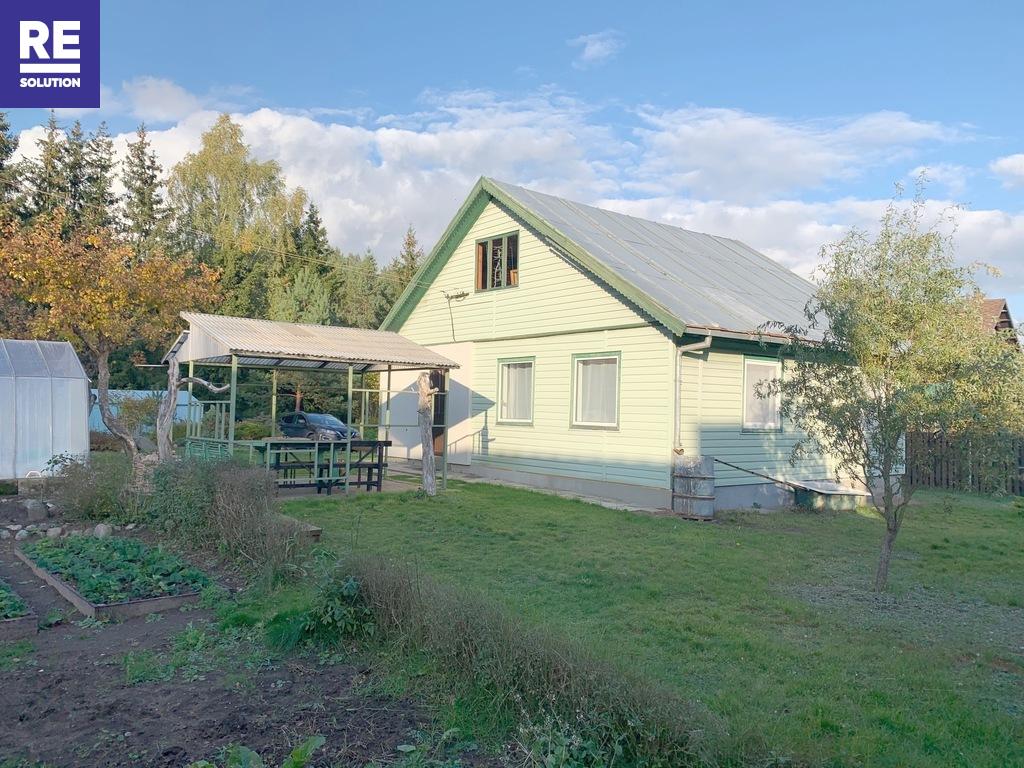 Parduodamas namas Vismaliukų g., Antakalnyje, Vilniuje, 96.24 kv.m ploto nuotrauka nr. 1