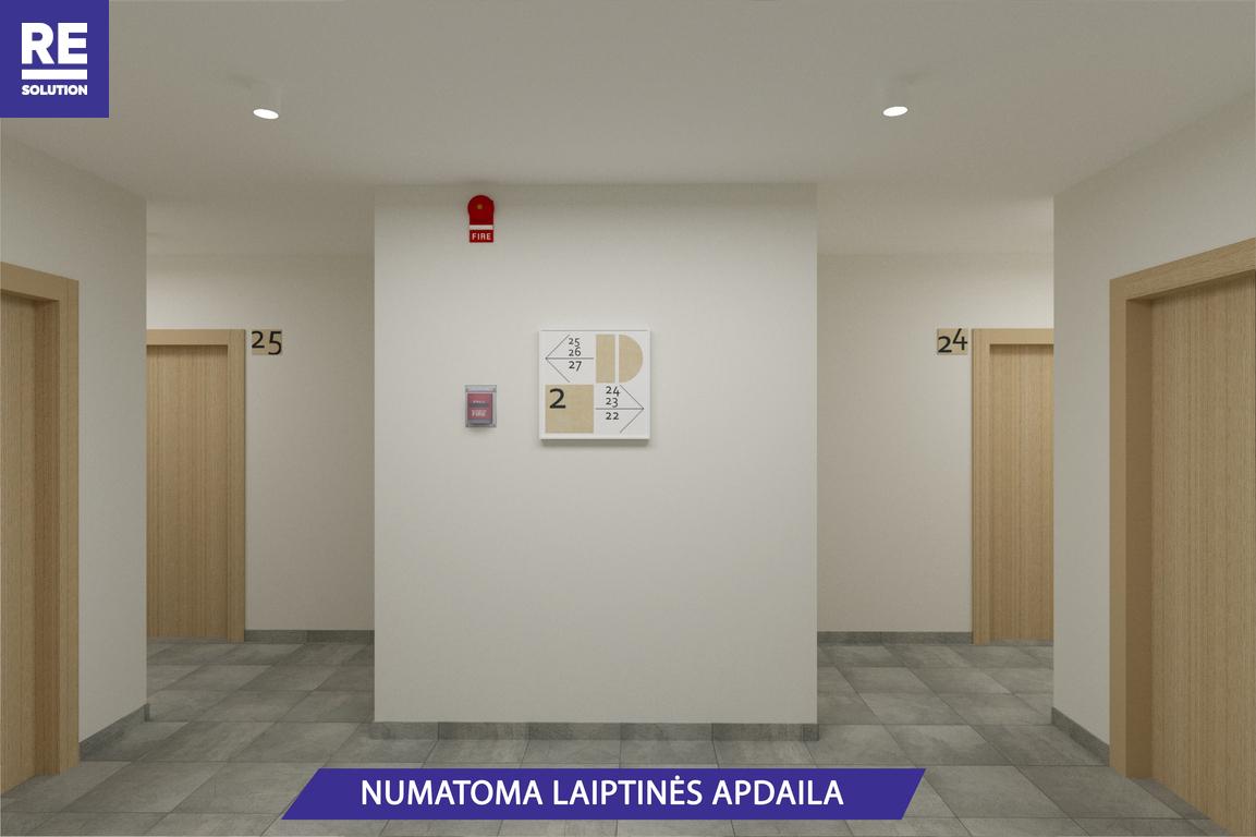 Parduodamas butas Olandų g., Užupis, Vilniaus m., Vilniaus m. sav., 46.8 m2 ploto, 2 kambariai nuotrauka nr. 8