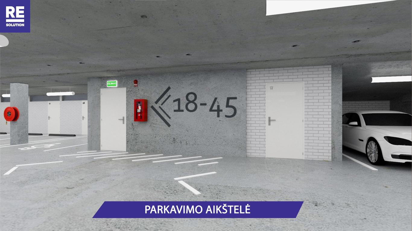 Parduodamas butas Olandų g., Užupis, Vilniaus m., Vilniaus m. sav., 46.8 m2 ploto, 2 kambariai nuotrauka nr. 12