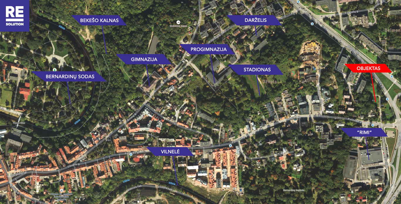 Parduodamas butas Olandų g., Užupis, Vilniaus m., Vilniaus m. sav., 46.8 m2 ploto, 2 kambariai nuotrauka nr. 21