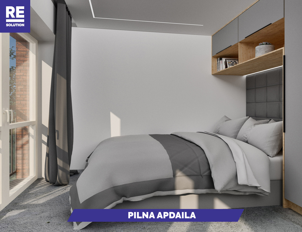 Parduodamas butas Olandų g., Užupis, Vilniaus m., Vilniaus m. sav., 46.8 m2 ploto, 2 kambariai nuotrauka nr. 5