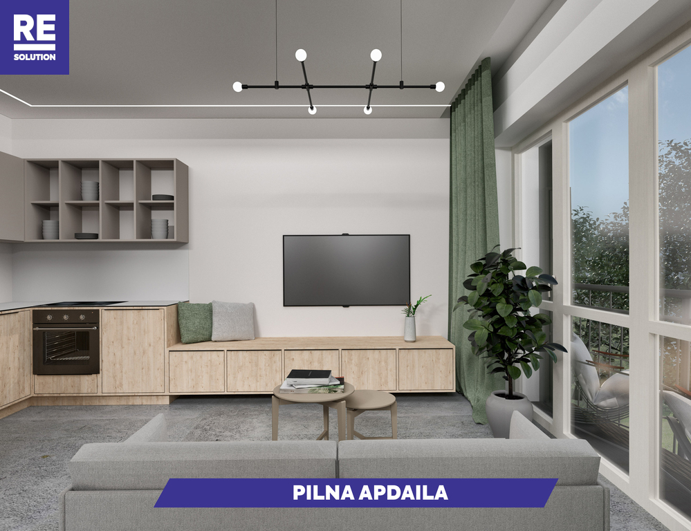 Parduodamas butas Olandų g., Užupis, Vilniaus m., Vilniaus m. sav., 46.8 m2 ploto, 2 kambariai nuotrauka nr. 3