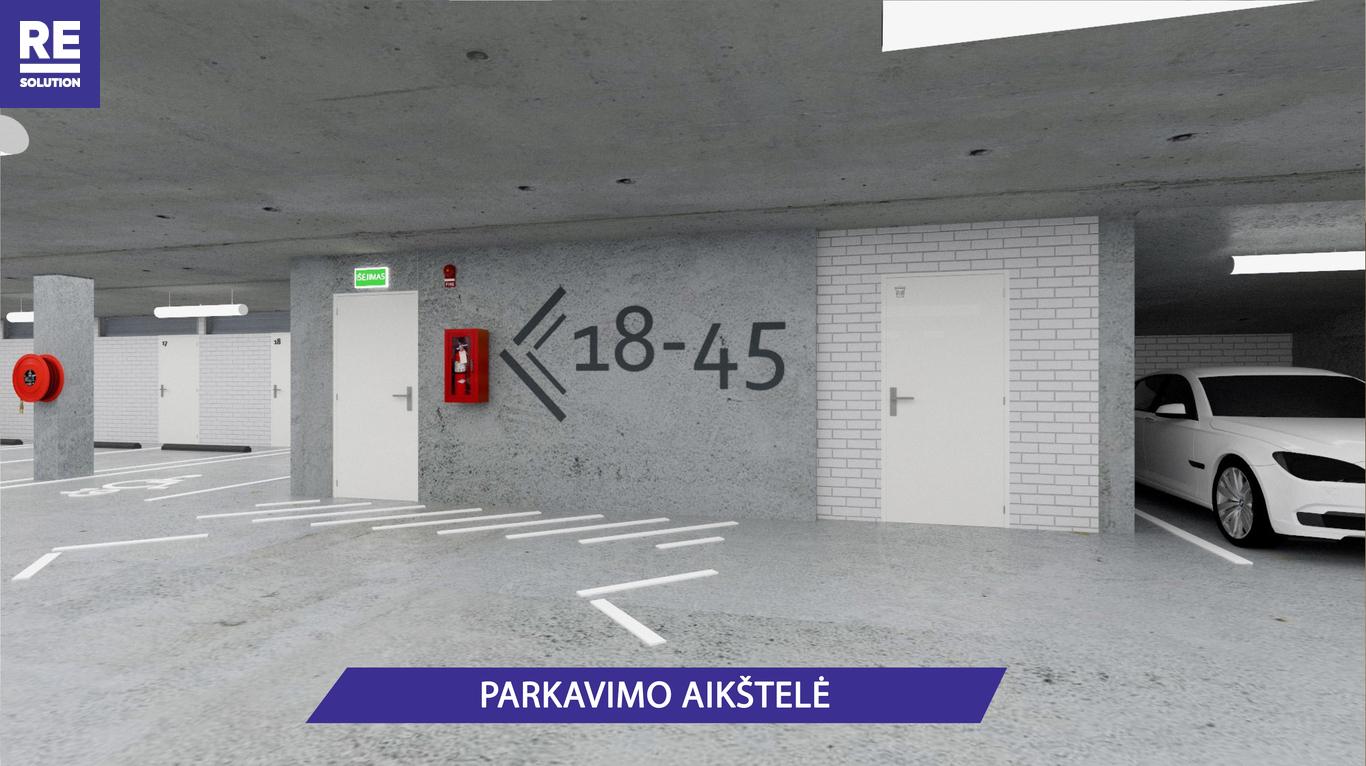 Parduodamas butas Olandų g., Užupis, Vilniaus m., Vilniaus m. sav., 23.5 m2 ploto, 1 kambarys nuotrauka nr. 9