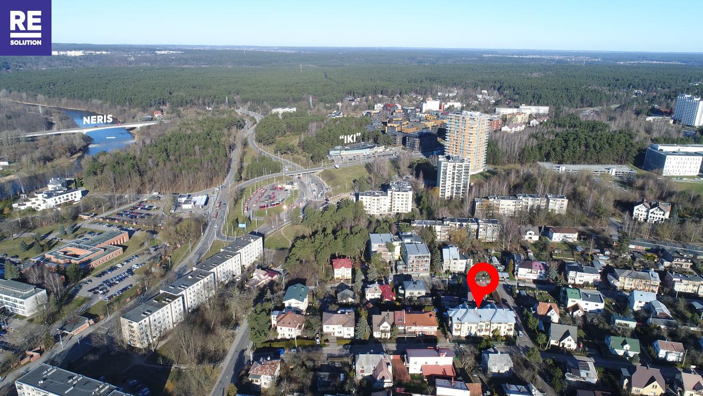 Parduodamas butas Medžiotojų g., Antakalnyje, Vilniuje, 127.36 kv.m ploto, 5 kambariai nuotrauka nr. 19