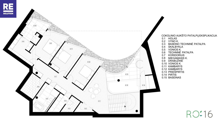 Parduodamas namas Stasio Lozoraičio g., Pavilnyje, Vilniuje, 300 kv.m ploto nuotrauka nr. 13