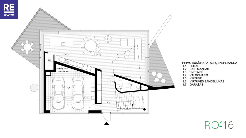 Parduodamas namas Stasio Lozoraičio g., Pavilnyje, Vilniuje, 300 kv.m ploto nuotrauka nr. 14