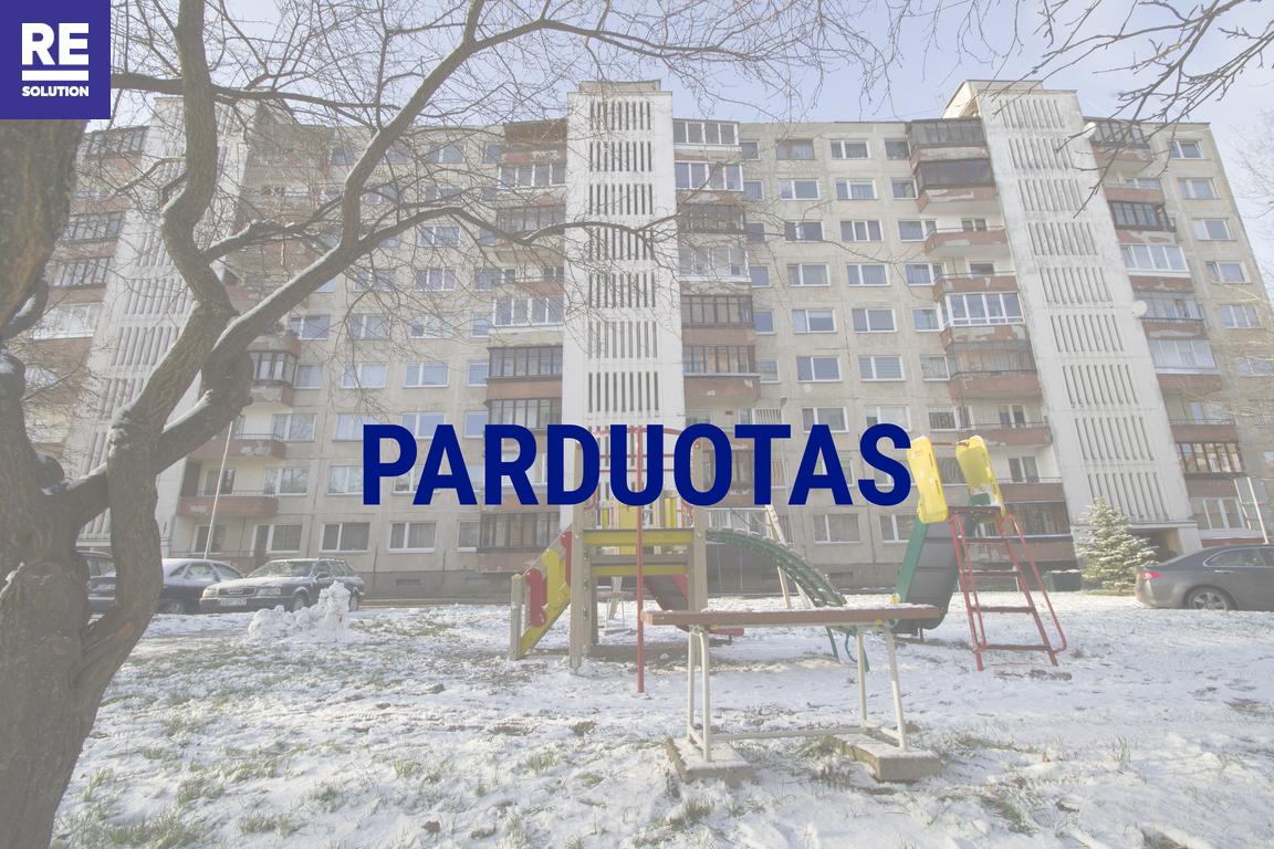 Parduodamas butas Didlaukio g., Baltupiuose, Vilniuje, 49.46 kv.m ploto, 2 kambariai