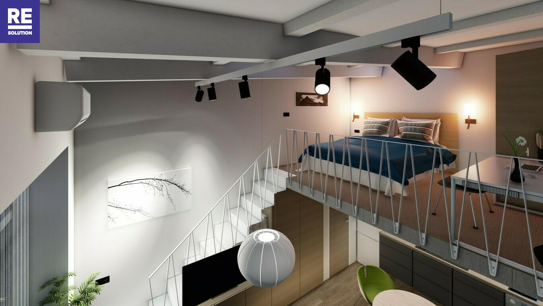 Parduodamas 35.18 kv.m. studijos tipo butas Užupio g., Vilniuje. nuotrauka nr. 4