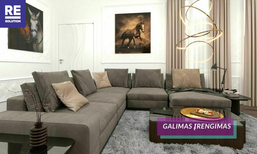 Parduodamas butas Gedimino pr., Senamiestyje, Vilniuje, 115.2 kv.m ploto, 3 kambariai nuotrauka nr. 8