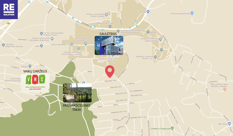 Namas Žirgo Sodų 1-oji g., Antakalnyje, Vilniuje, 201.06 kv.m ploto nuotrauka nr. 26