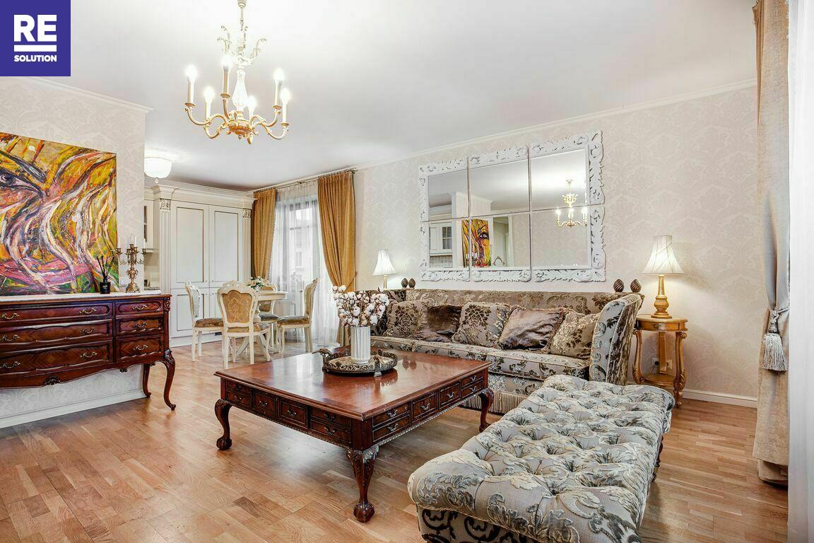 Nuomojamas butas Aguonų g., Senamiestyje, Vilniuje, 89.76 kv.m ploto, 3 kambariai nuotrauka nr. 4