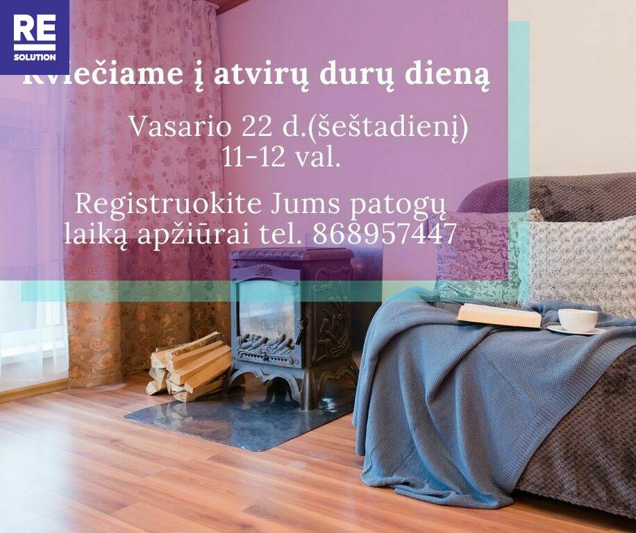 Parduodamas butas Turniškių g., Turniškėse, Vilniuje, 88.73 kv.m ploto, 4 kambariai nuotrauka nr. 2