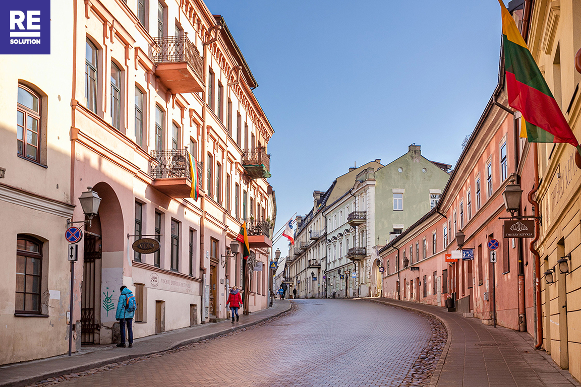 Parduodamas butas Krivių g., Senamiestyje, Vilniuje, 86 kv.m ploto, 3 kambariai nuotrauka nr. 18