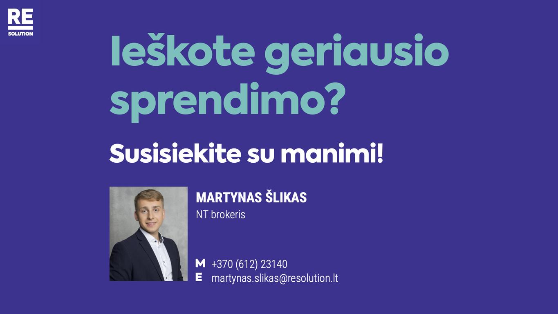 Parduodamas butas Kapsų g., Naujininkuose, Vilniuje, 58.61 kv.m ploto, 3 kambariai nuotrauka nr. 14