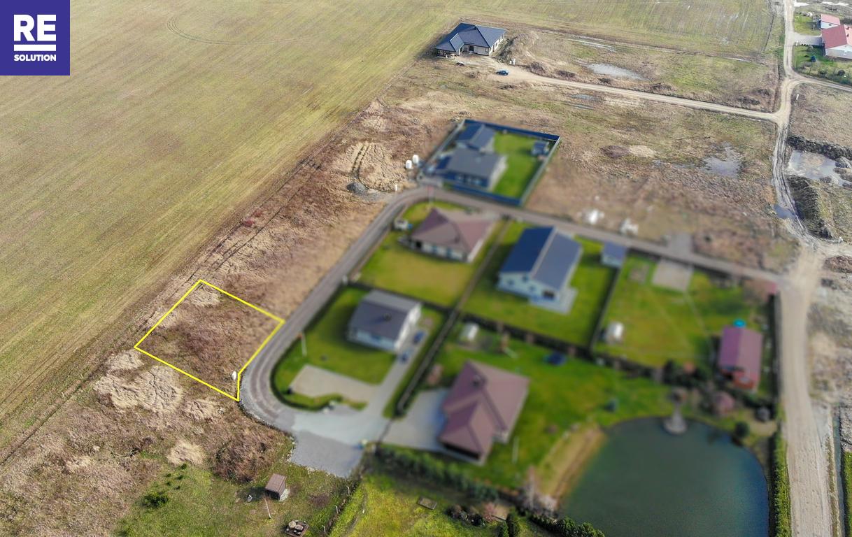 6,79 a. sklypas tik 7 km nuo miesto centro su leidimu statyti 190 kv.m gyv. namą nuotrauka nr. 1
