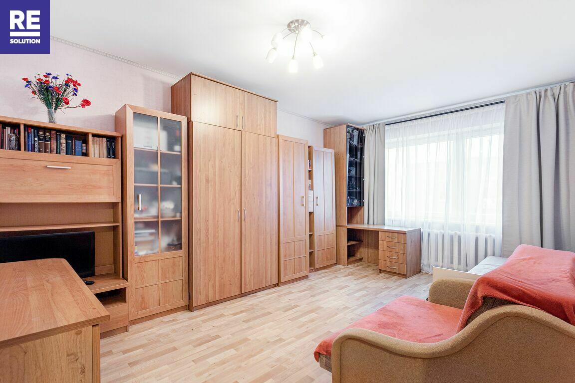 Parduodamas 1 kambario butas Fabijoniškėse, Vilniuje, 40 kv.m ploto nuotrauka nr. 3