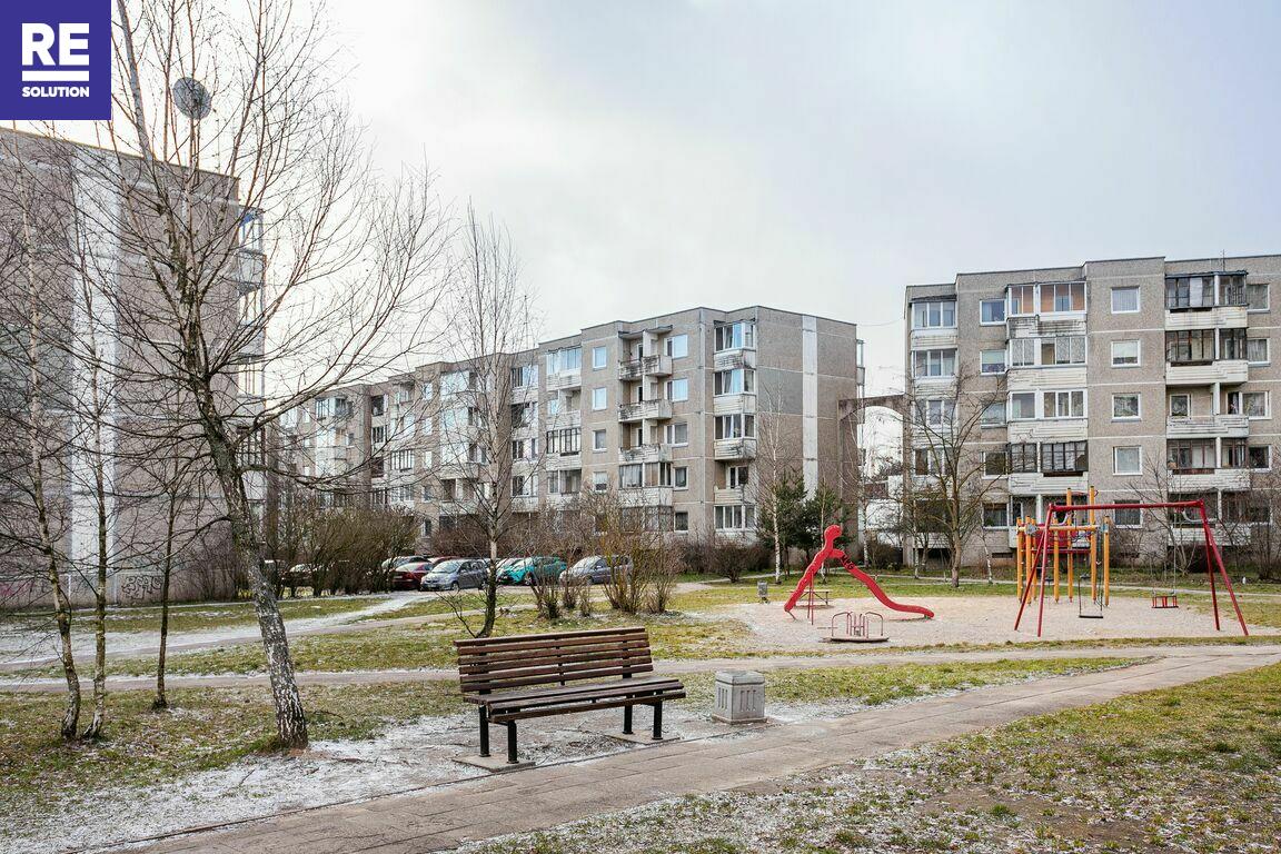 Parduodamas 1 kambario butas Fabijoniškėse, Vilniuje, 40 kv.m ploto nuotrauka nr. 21