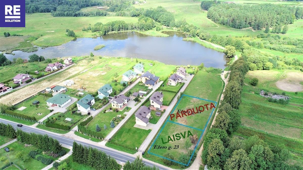 Parduodamas namų valdos paskirties sklypas Ežero g., Riešės k., Vilniaus r. sav., 15 a ploto nuotrauka nr. 2