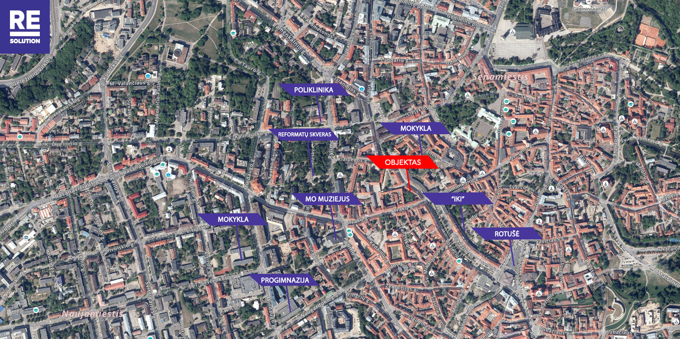 Parduodamas butas Vilniaus g., Senamiestyje, Vilniuje, 28.58 kv.m ploto nuotrauka nr. 14