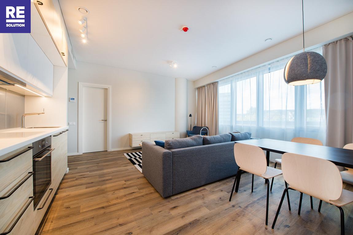 Parduodamas pilnai įrengtas butas su baldais Konstitucijos pr., Šnipiškėse, Vilniuje, 53.84 kv.m ploto nuotrauka nr. 12