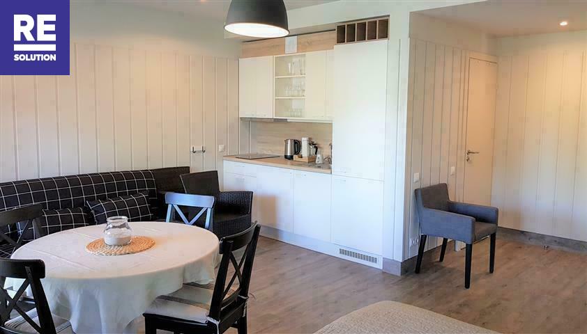 Parduodamas butas Preilos g., Neringos m., Neringos sav., 28.2 m2 ploto, 1 kambariai
