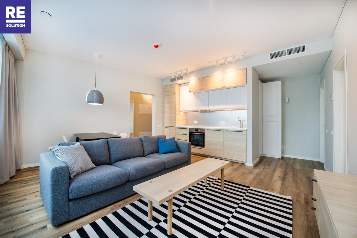 Parduodamas pilnai įrengtas butas su baldais Konstitucijos pr., Šnipiškėse, Vilniuje, 53.84 kv.m ploto nuotrauka nr. 13