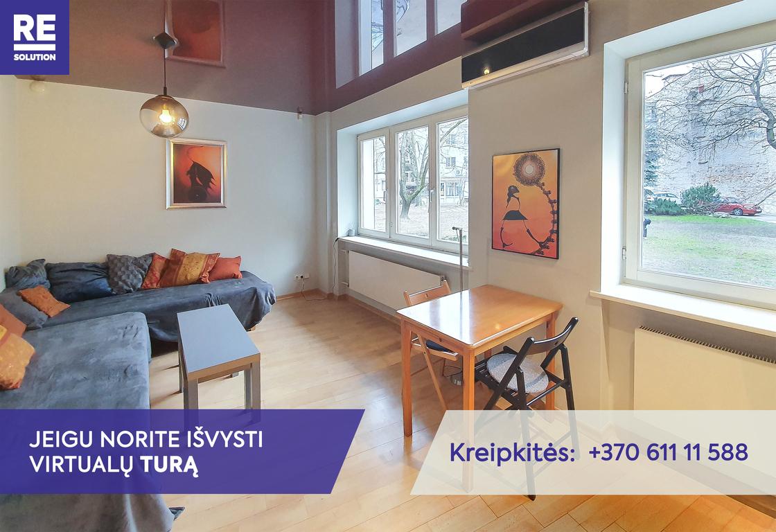 Parduodamas butas Vilniaus g., Senamiestyje, Vilniuje, 28.58 kv.m ploto nuotrauka nr. 2