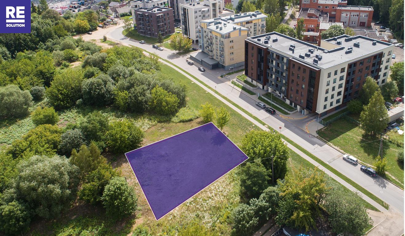 Vilniuje, Visoriuose, parduodamas 7.1 a ploto namų valdos sklypas, Prano Ancevičiaus g. 14 nuotrauka nr. 3