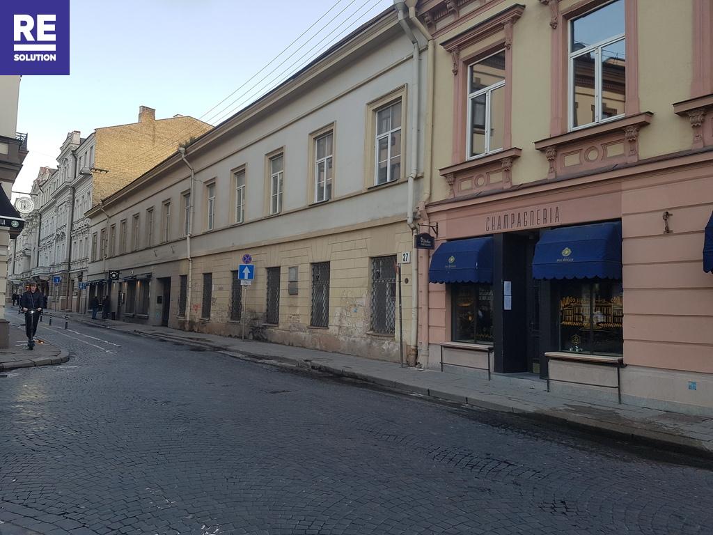 Parduodamos patalpos Vilniaus g., Senamiestyje, Vilniuje, 101 kv.m ploto