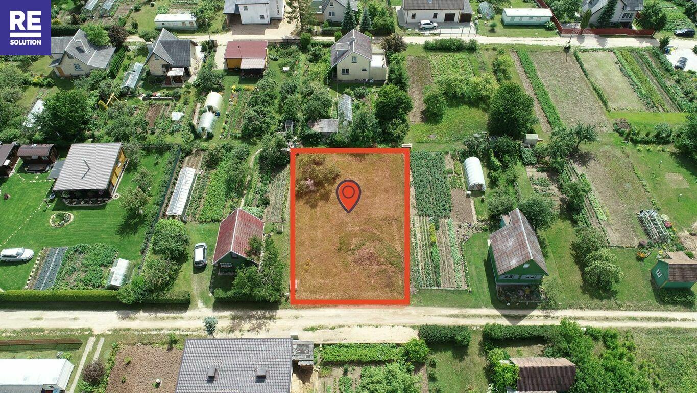 Parduodamas sodų paskirties sklypas Gėlių g., Gervėnų k., Šiaulių r. sav., 6 a. ploto nuotrauka nr. 2