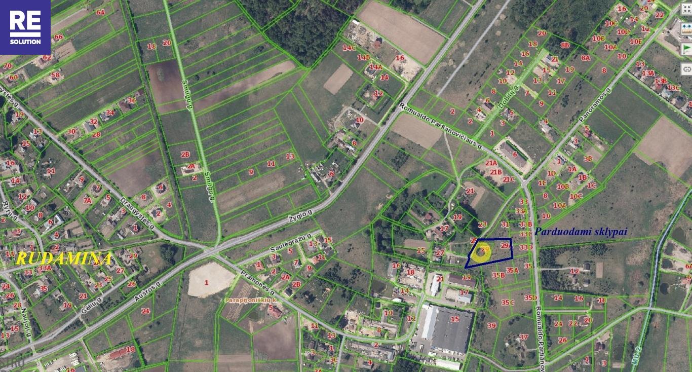 Parduodamas 19.77 arų ploto sklypas Parapijoniškėse, Vilniaus r. nuotrauka nr. 6