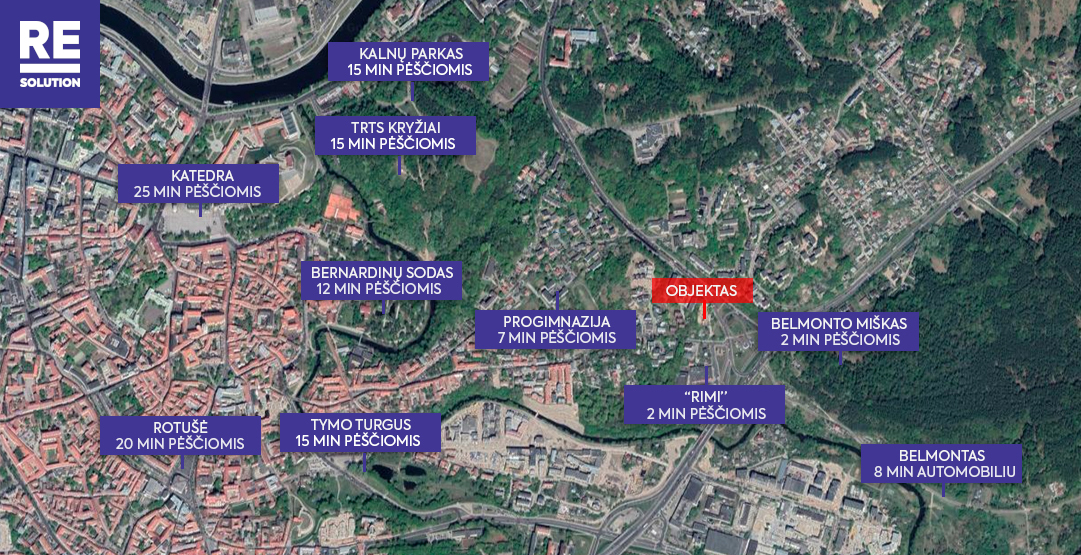 Parduodamas butas Polocko g., Užupis, Vilniaus m., Vilniaus m. sav., 33.3 m2 ploto, 2 kambariai nuotrauka nr. 18
