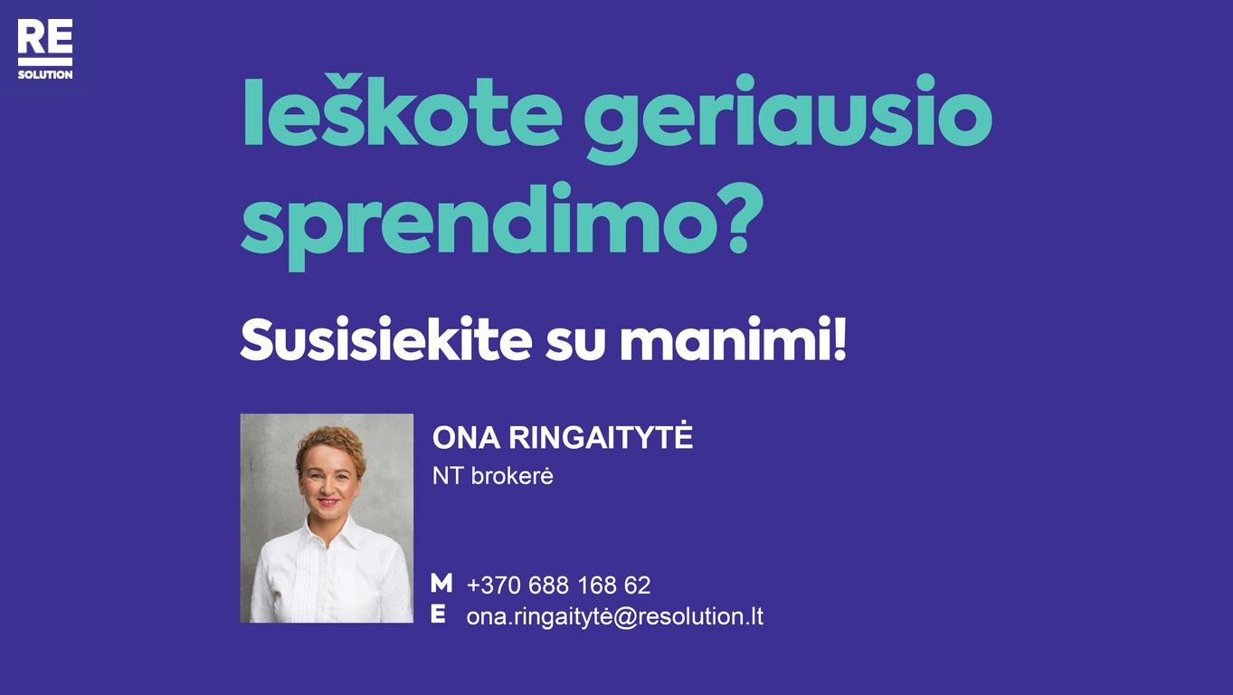 Parduodamas butas Polocko g., Užupis, Vilniaus m., Vilniaus m. sav., 33.3 m2 ploto, 2 kambariai nuotrauka nr. 19