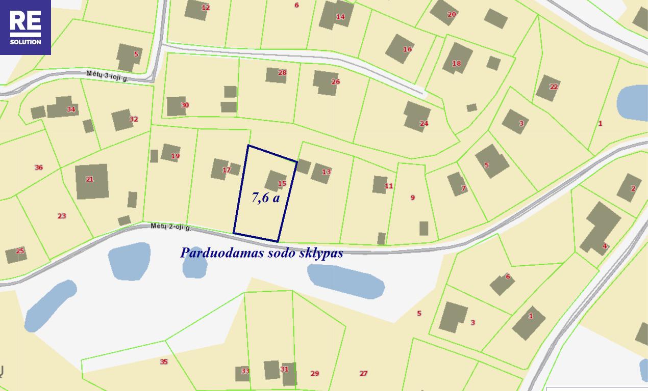 Parduodamas mūrinis sodo namas Mėtų 2-oji g., Rastinėnuose nuotrauka nr. 21