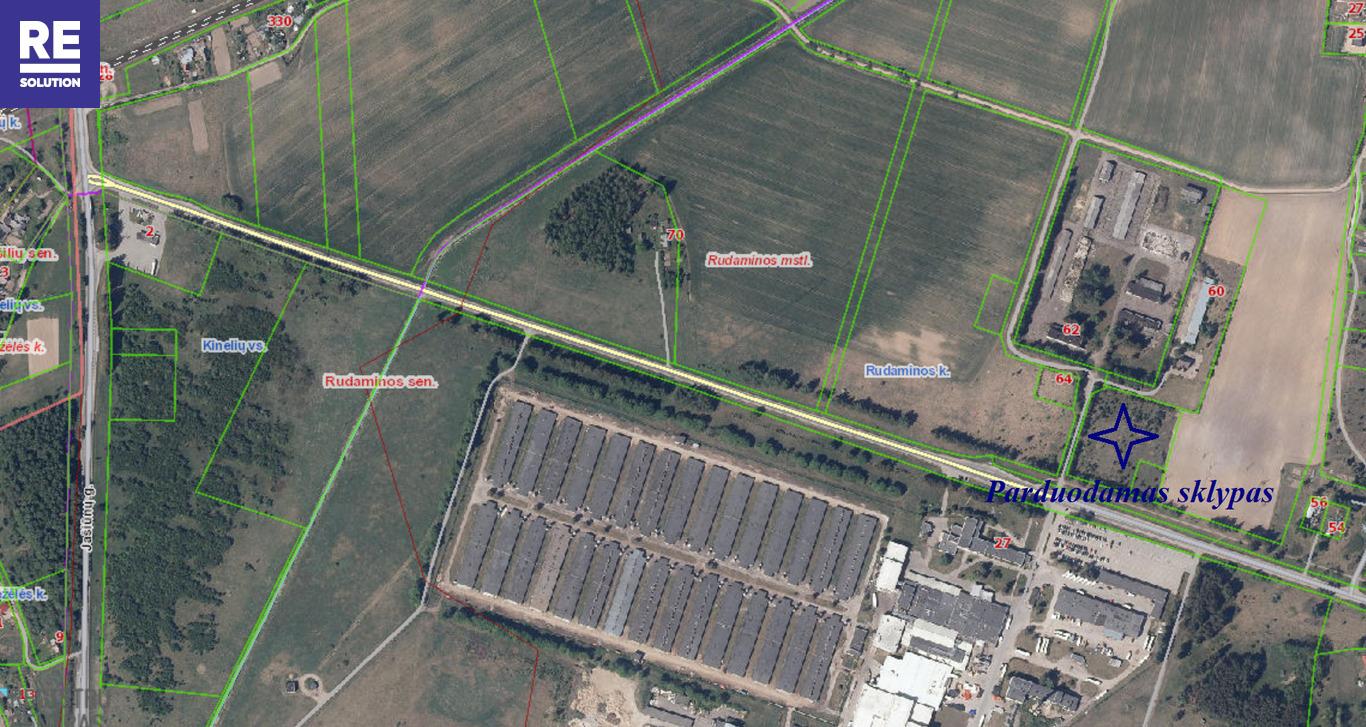 Parduodamas 0,92 ha ploto žemės sklypas Rudaminos k., Vilniaus r. nuotrauka nr. 3