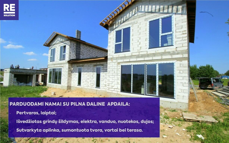 Parduodamas namas Bulgarų g., Kalnėnuose, Vilniuje, 135 kv.m ploto nuotrauka nr. 7