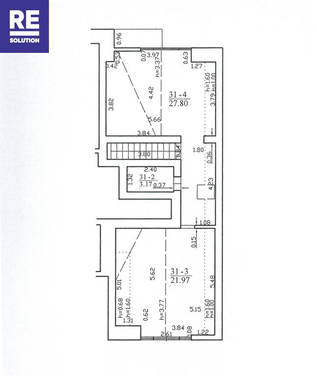 Parduodamas butas Preilos g., Neringos m., Neringos sav., 53.77 m2 ploto, 2 kambariai nuotrauka nr. 7