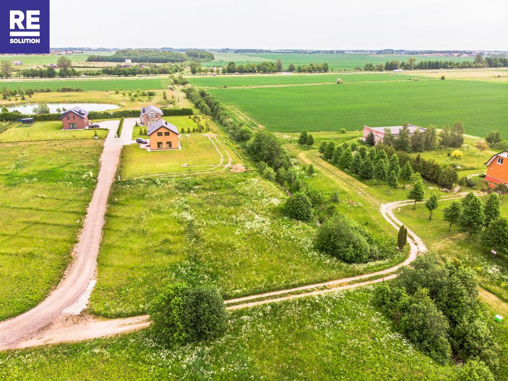 22 a kampinis sklypas namo statybai netoli Karklės. Patogus privažiavimas, šalia upelio. nuotrauka nr. 4