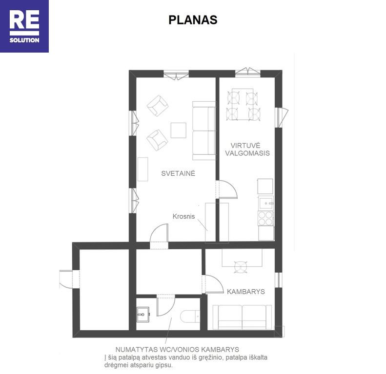 Parduodamas namas Pranciškonų g., Medininkų k., 45 kv.m ploto nuotrauka nr. 15