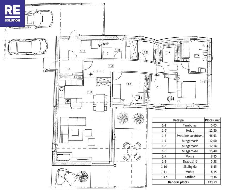 18 a sklypas Ketvergių k. netoli tvenkinio, su leidimu statyti 140 kv.m gyv. namą nuotrauka nr. 6