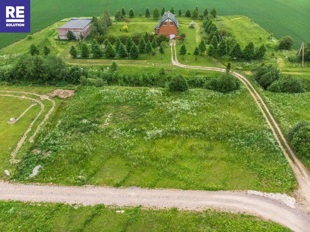 22 a kampinis sklypas namo statybai netoli Karklės. Patogus privažiavimas, šalia upelio. nuotrauka nr. 5