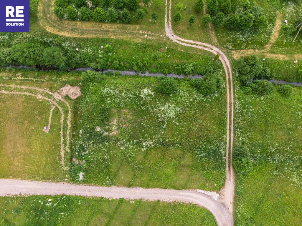22 a kampinis sklypas namo statybai netoli Karklės. Patogus privažiavimas, šalia upelio. nuotrauka nr. 1