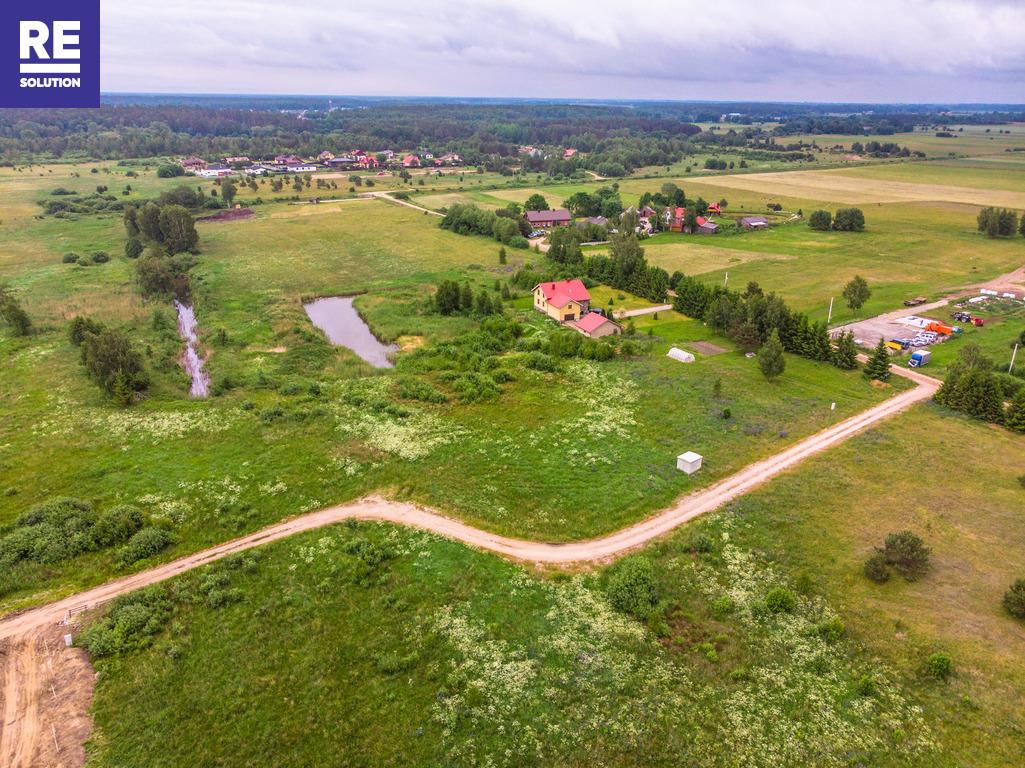 18 a sklypas Ketvergių k. netoli tvenkinio, su leidimu statyti 140 kv.m gyv. namą nuotrauka nr. 2
